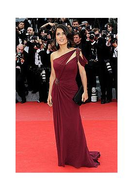 Salma Hayek wears first Gucci Couture gown