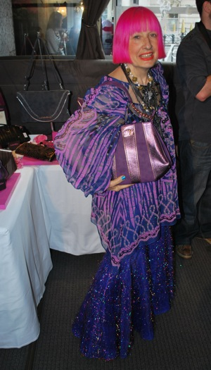Zandra Rhodes New Handbag Collection