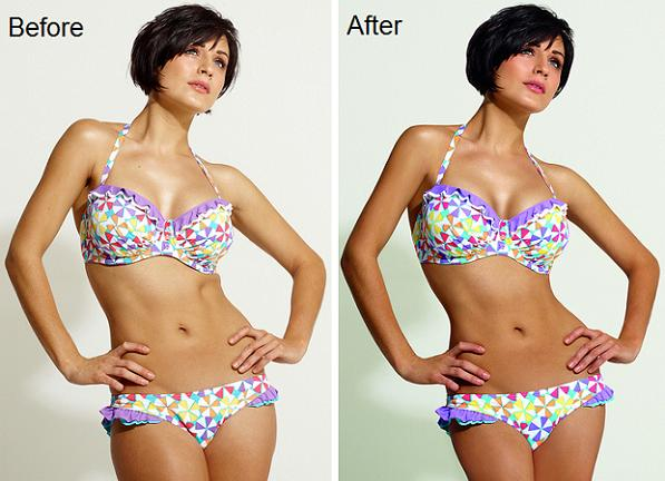 Debenhams bans airbrushing