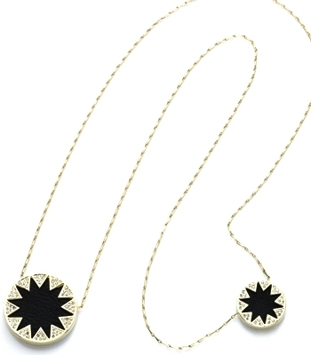 Lunchtime buy: House of Harlow 1960 Double Sunburst Station necklace