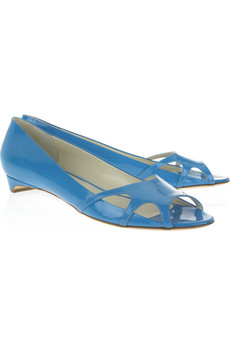 Lunchtime buy: Rupert Sanderson Koko patent-leather flats