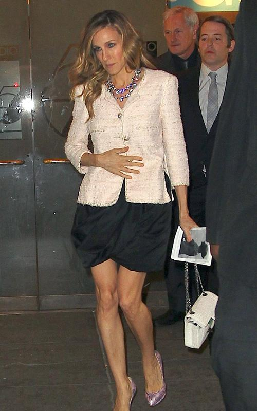Get SJP's look with these limited edition Nicholas Kirkwood shoes!