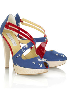 Lunchtime buy: Stella McCartney nautical platform sandals