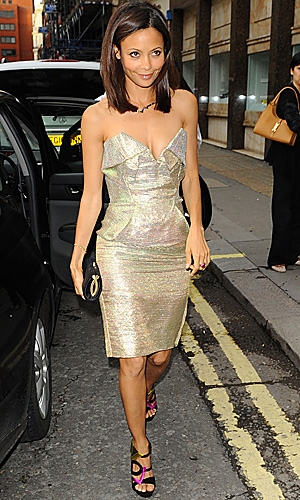 Thandie Newton in Vivienne Westwood Gold Label