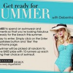 Get beach ready with Debenhams (and £400)