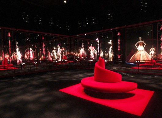 Dior's couture pop-up exhibition