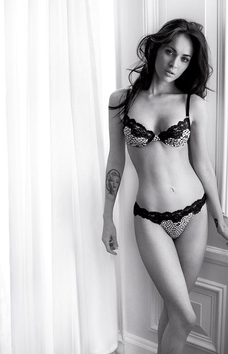 Megan Fox's autumn Armani ads