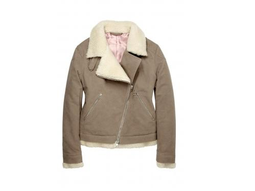 Lunchtime buy: Acne Camel Moleskin Biker Jacket