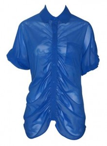 alice + olivia parachute shirt