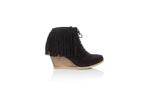 Lunchtime buy:  KG by Kurt Geiger Tasselled Shoe Boot
