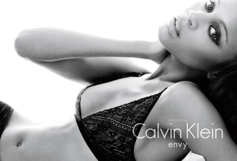 Zoe Saldana for Calvin Klein Underwear