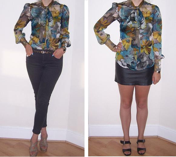 MFL does my-wardrobe: D&G daisy blouse