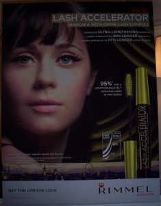 Zooey Deschanel for Rimmel