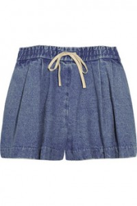 3.1 Phillip Lim denim drawstring shorts