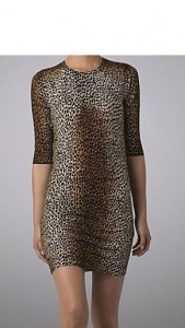 D&D Leopard Print dress