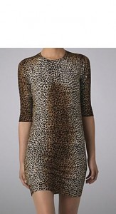 D&G Leopard print dress