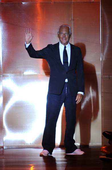 Giorgio Armani hosts cocktail parties for Fashion's Night Out