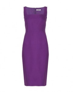 L.K. Bennett Purple Penn dress