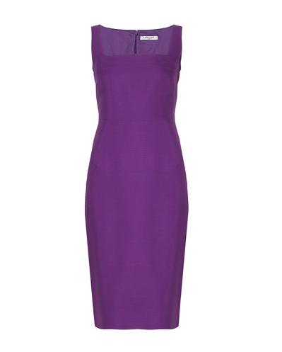 Lunchtime buy: L.K. Bennett Purple Penn dress