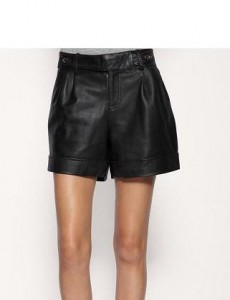 Urban Code Leather Shorts