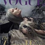 Vogue Italia's controversial oil spill shoot