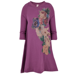 Lunchtime buy: Muchacha purple t-shirt dress