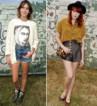 Alexa Chung; Florence Welch