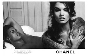 Crystal Renn for Chanel