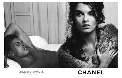 Crystal Renn for Chanel!