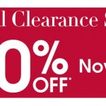 Up to 70% off in the Debenhams final clearance sale!