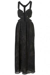 Topshop Gothic maxi dress