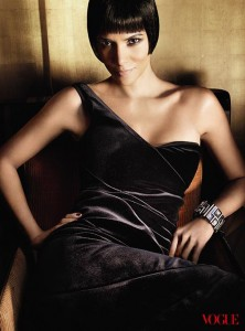 Halle Berry in US Vogue