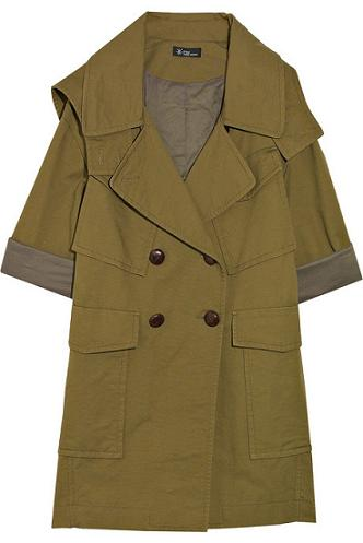 Lunchtime buy: Etoile Isabel Marant Quidor hooded trench