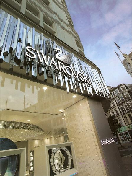 Swarovski opens new London flagship
