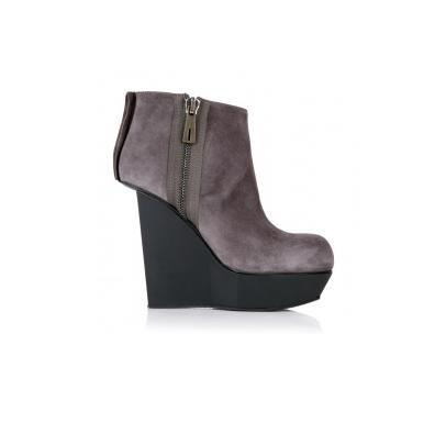 Lunchtime buy: Acne Hybrid Suede Wedge Boots
