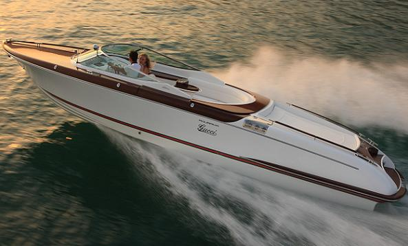 Gucci and Riva announce exclusive made to order yacht