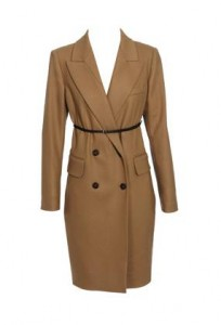 Carven camel coat