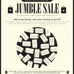Designer jumble sale