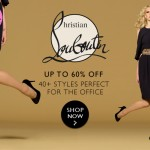 60% off Christian Louboutin!