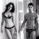 Megan Fox and Cristiano Ronaldo in videos for Armani