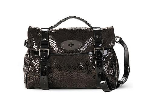 Lunchtime buy: Mulberry patent leopard Alexa