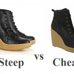 Steep vs Cheap: the wedge boot