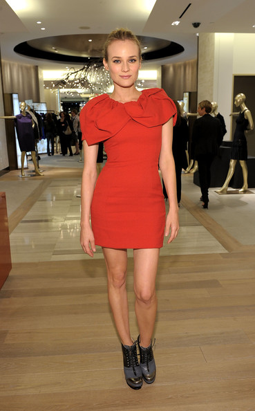Get the look: Diane Kruger in Prabal Gurung