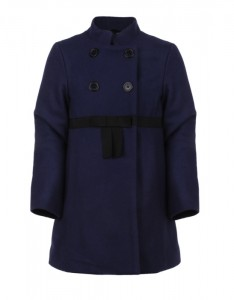 Lunchtime buy: Little Marc Jacobs Ink Blue Coat With Bow