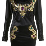 Lunchtime buy: TOPSHOP Bijoux Jewel Dress by KTZ**
