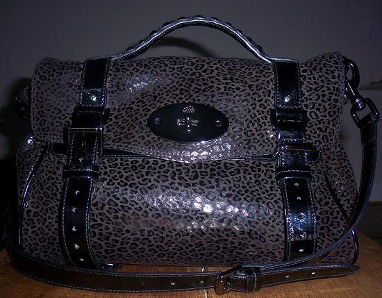 MFL does my-wardrobe: Mulberry mini patent leopard Alexa