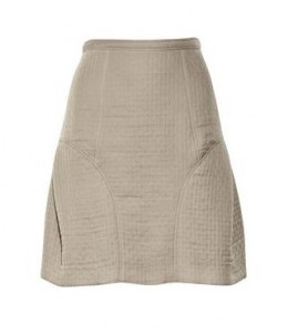Burberry Quilted skirt