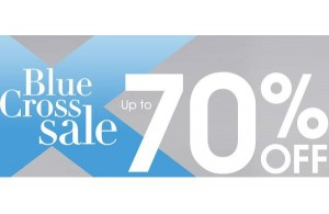 Debenhams Blue Cross Sale