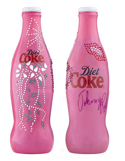 Diet Coke gets a crystal makeover