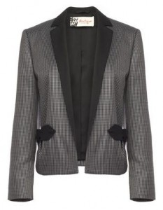 HOUNDSTOOTH JACKET £175 edit